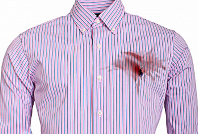 Celebrity style fashion news fashion trends and beauty for Oil stain on shirt