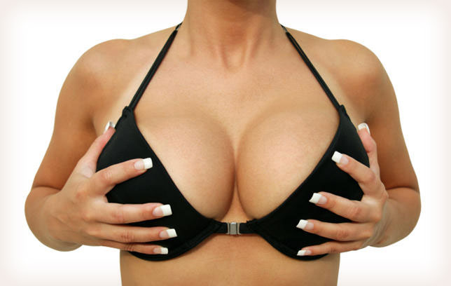 Signs of fake breasts