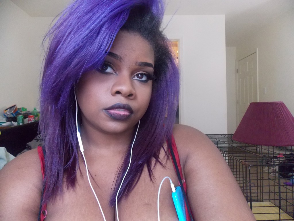 Purple Hair Dye For Black Hair Without Bleach Find Your