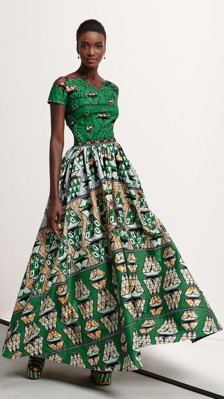 African Fashion Week Nc: 30 Ways To Style Your African Prints And Ankara Maxi