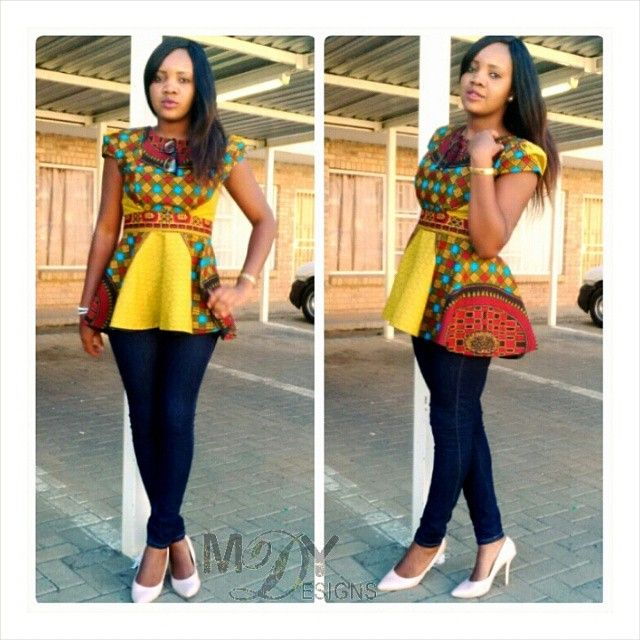0758bc61b14 Polished African Prints Office Outfit Ideas for You to Try This Week ...