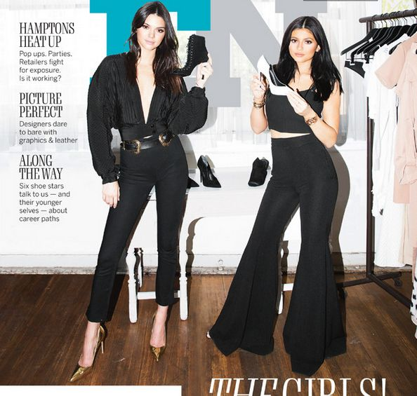 ad86085fe84b0 Kendall   Kylie Jenner s First Footwear Collection is as Chic as ...