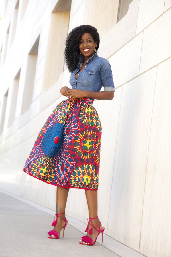 938934693e Every Way To Mix Denim With African Prints - FPN