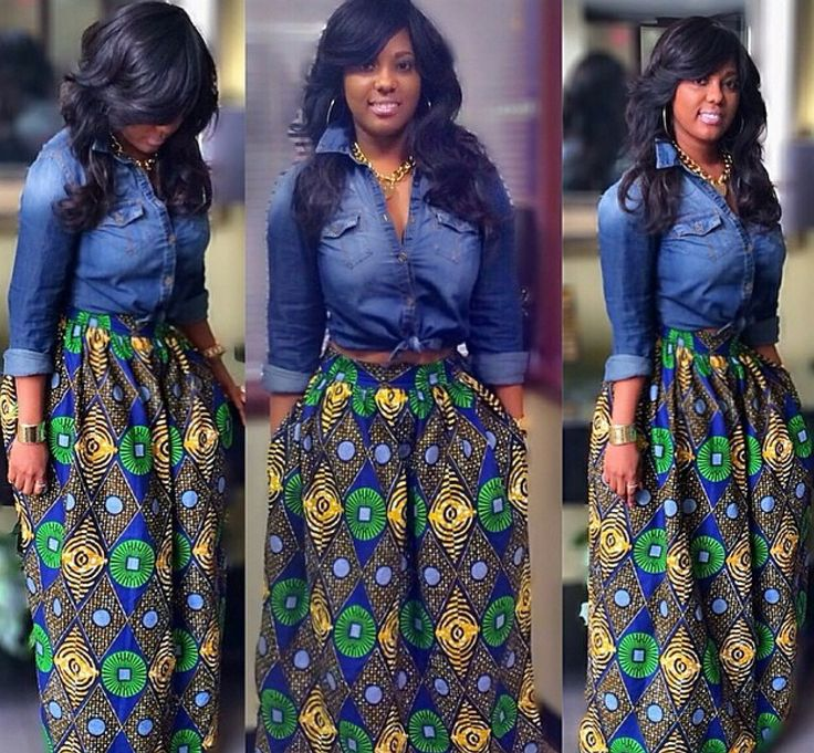 Every Way To Mix Denim With African Prints - FPN