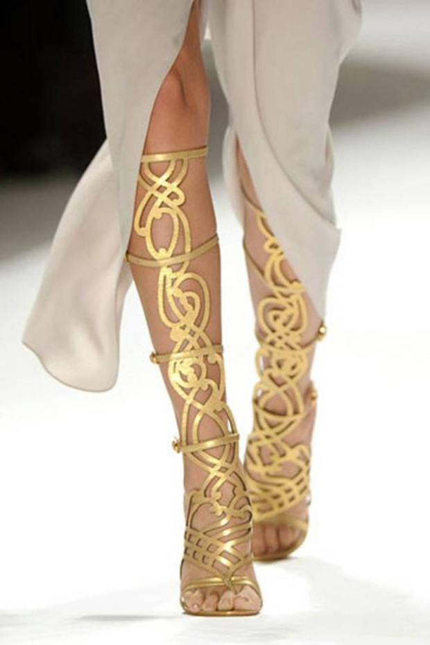 The Type Of Gladiator Sandals The Fashion Growd Is