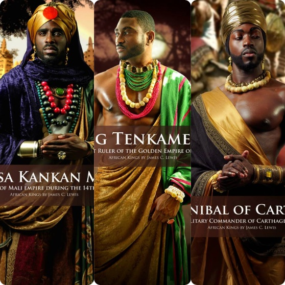 great african kings and queens