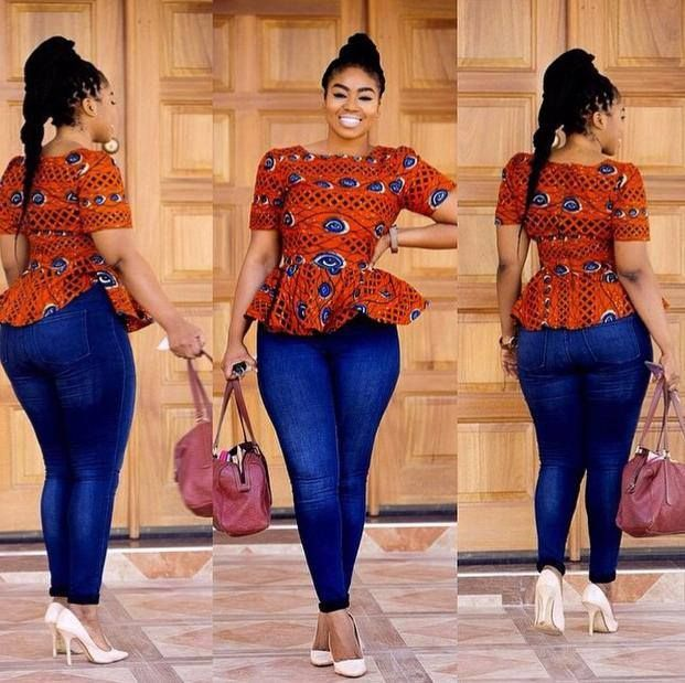 25 Awesome Ankara Tops Ideas To Try Now