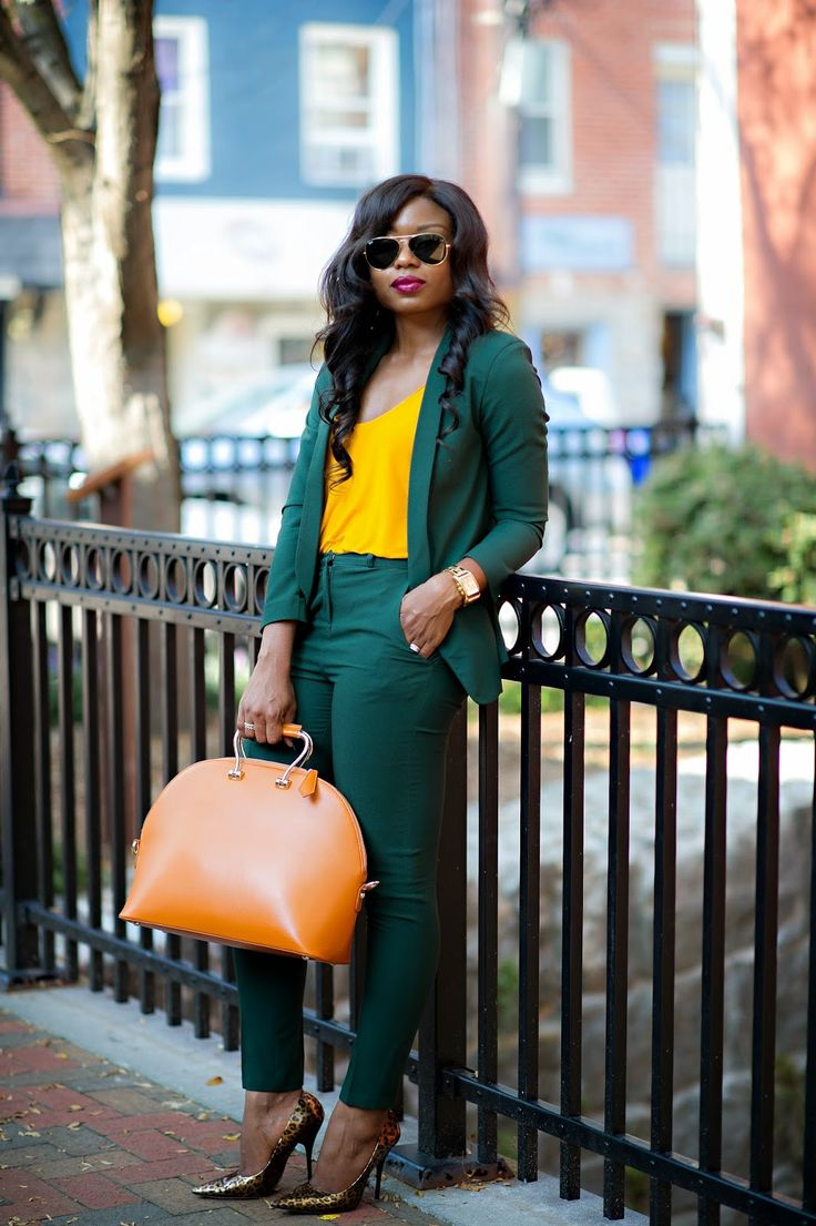 Image result for nigerians waering Bright Colored Outfits to work