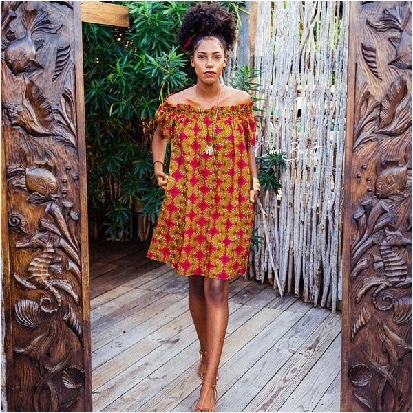 Nigerian fashion police ankara dresses