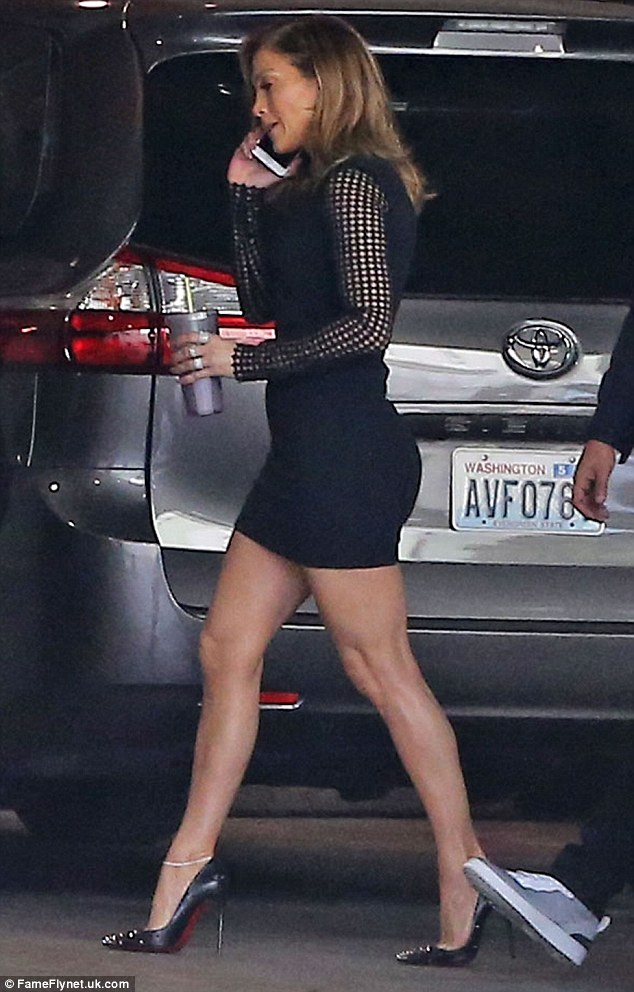 a92e03f5f0 You Have To See How Jennifer Lopez Is Wearing The Little Black Dress ...