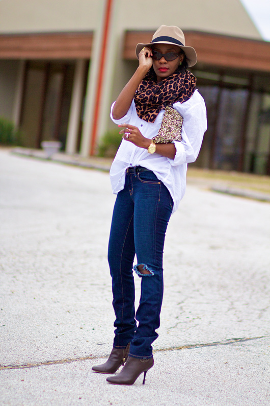 Image result for nigerian articles on chic ways to wear classic white button down shirt