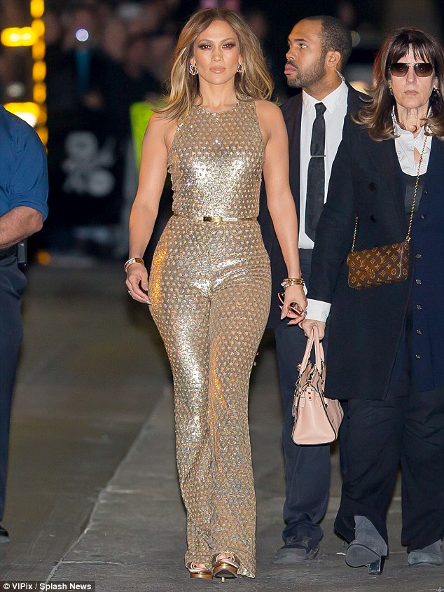 Jennifer-Lopez-Sequin-Jumpsuit-Fashion-Police-Nigeria