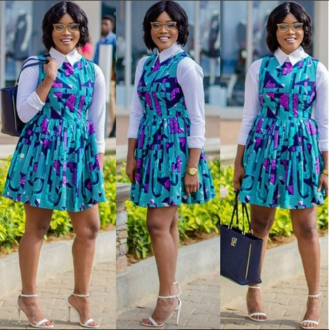 6 Times Joselyn Dumas Proved That Ankara Print Is Still The Trend To Adopt In 2016