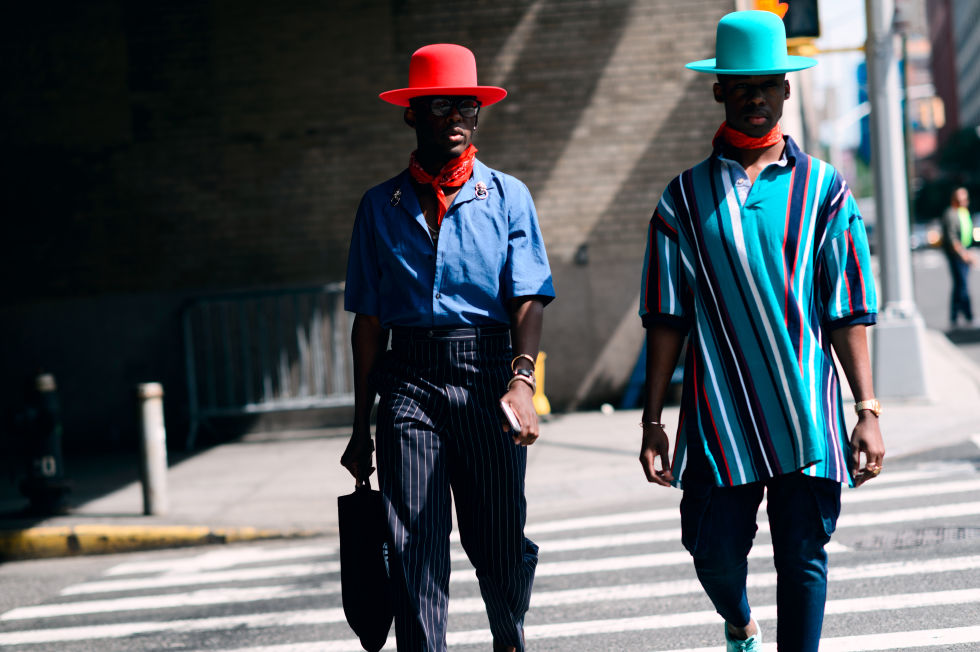 The Coolest Street Style Looks From New York Fashion Week Men 39 S Spring 2017 Welcome To Fpn