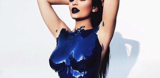 Kiley Jenner Body Paint