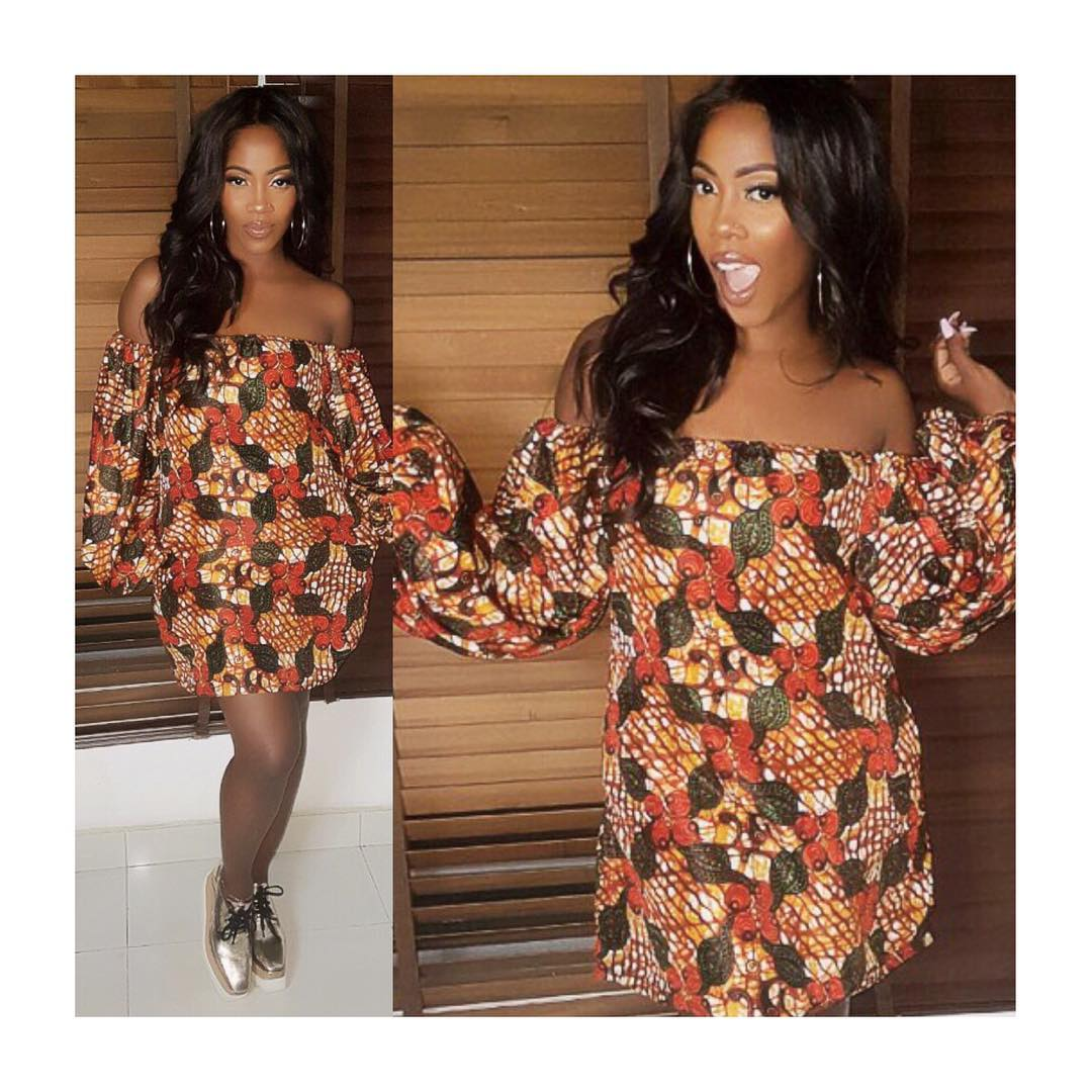 Celebrity style fashion news fashion trends and beauty tips tiwa savage ankara style fashionpolicenigeria ombrellifo Images