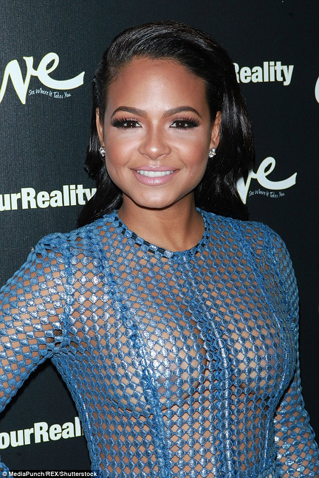 christina-milian-net-dress-fashionpolicenigeria