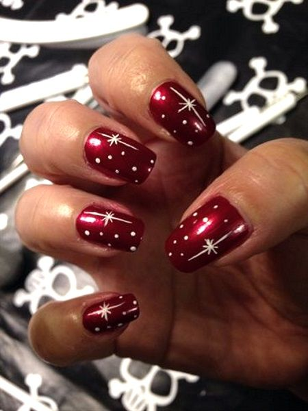 nail-art-designs-ideas-christmas-holiday-2016-fashionpolicenigeria