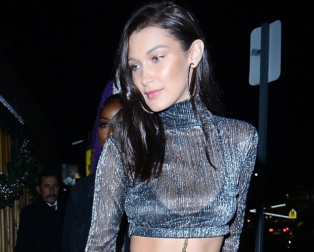 2170f4895 Bella Hadid Started 2016 In A Naked Dress And Ended In Naked Dress - FPN