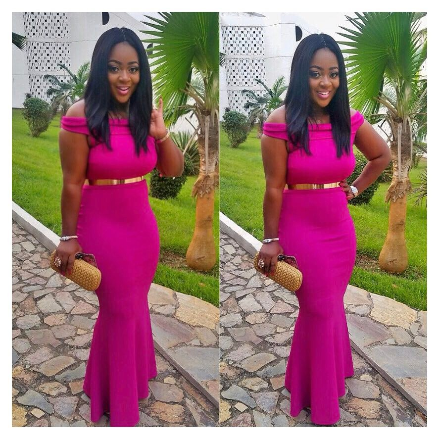 This Is How Jackie Appiah Do Wedding Guest Dressing Fpn