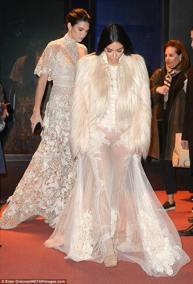 Kim-Kardashian-Givenchy-Sheer-Gown-Fashionpolicenigeria-2