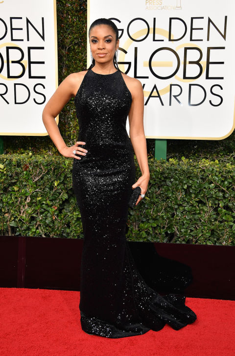 Red Carpet Golden Globes Awards 2017 Susan Kelechi