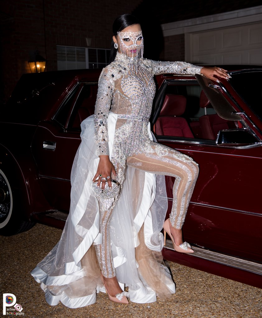 This Teen S Prom Dress Was Inspired By The Kardashians And