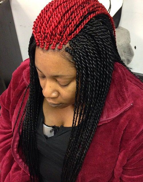 8 Senegalese Twist Hairstyles Colors To Try If You Hate ...