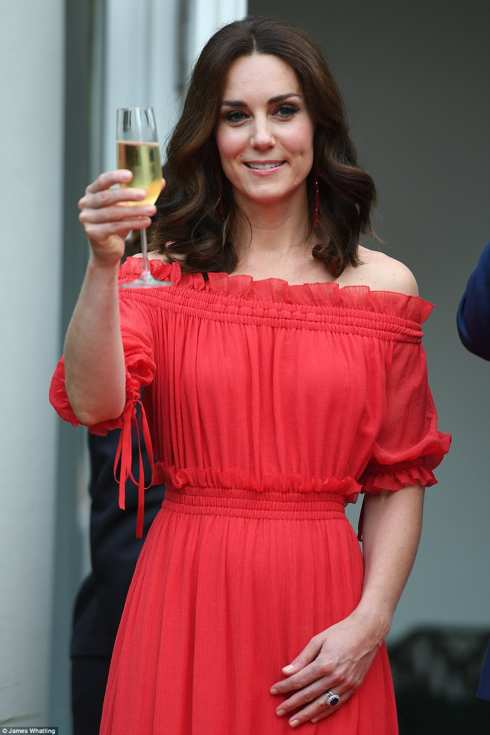 Kate-Middleton-Red-Alexander-McQueen-Maxi-Dress-Berlin-Germany-Tour