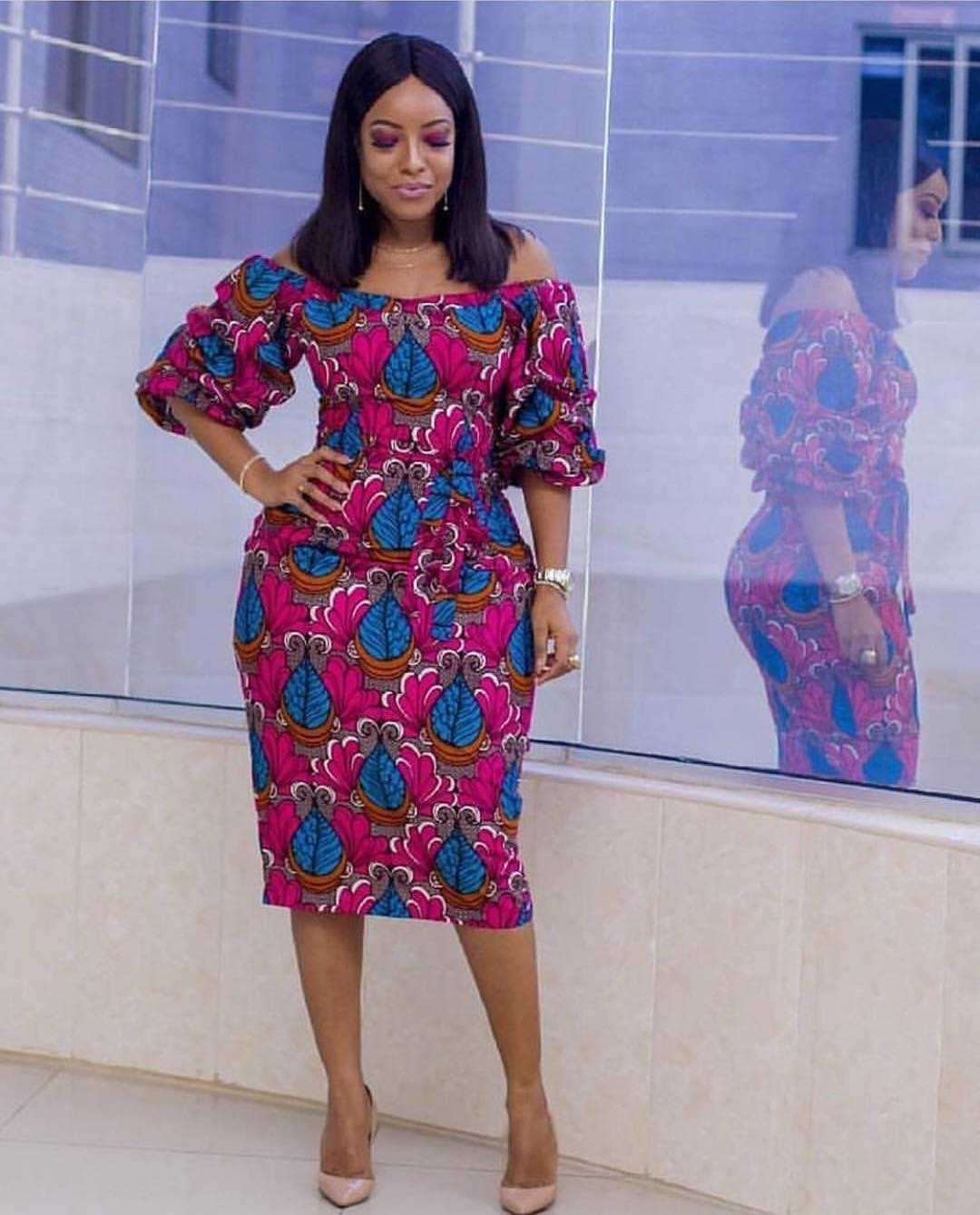 joselyn-dumas-ankara-dress-miss-malaika-2017