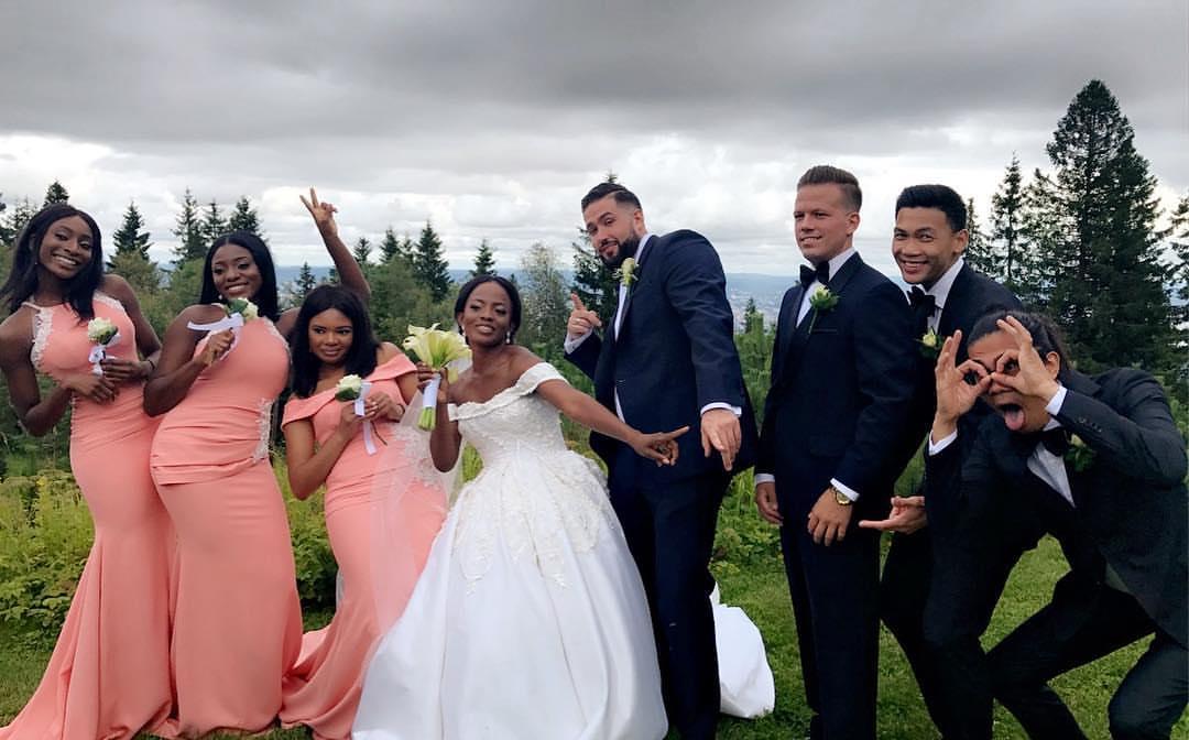 toke-makinwa-sister-wedding-guest-style