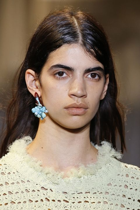 Coveted Earrings Paris Fashion Week Spring 2018
