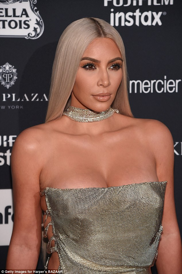 Kim Kardashian Daily Front Row's Fashion Media Awards