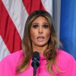 Melania Trump Pink Delpozo Dress United Nations