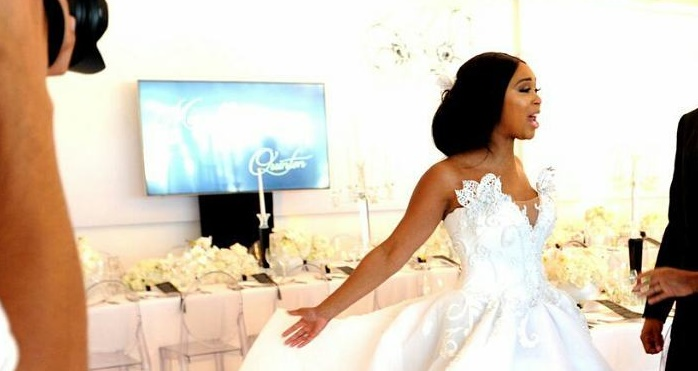 Minnie Dlamini Wedding Ceremony