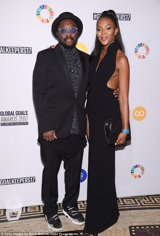 Naomi Campbell Goalkeepers Global Goals Awards