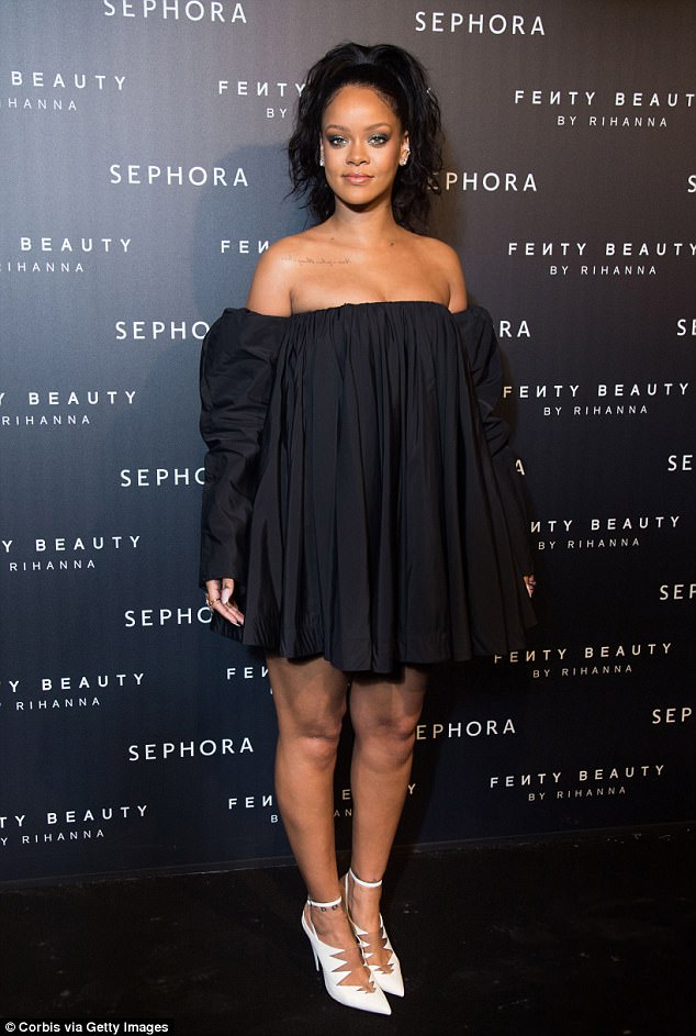 Rihanna Fenty Beauty Launch Paris