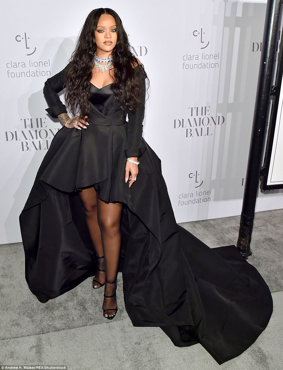 Rihanna Third Diamond Ball Red Carpet