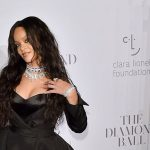 Rihanna Third Diamond Ball Red Carpet