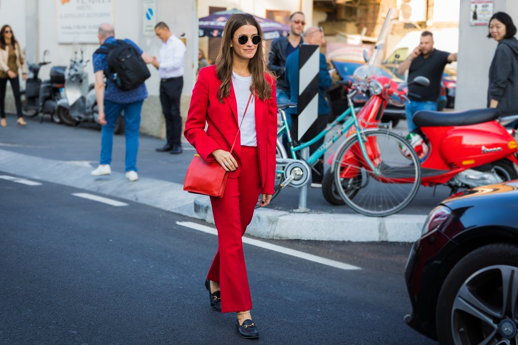 Street-Style Milan Fashion Week Spring 2018