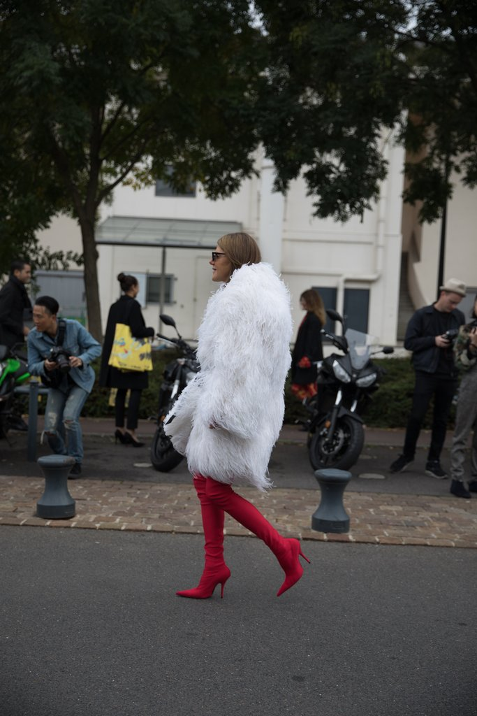 Street Style Paris Fashion Week Spring 2018