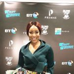 Joselyn Dumas potato London movie premiere
