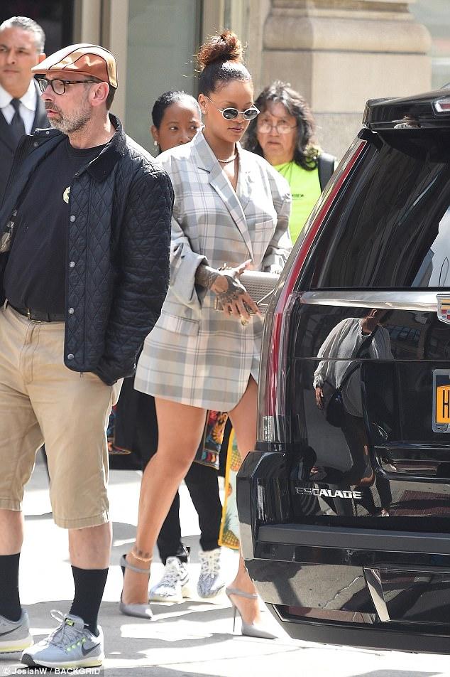 Rihanna Fenty Beauty Launch Red Carpet