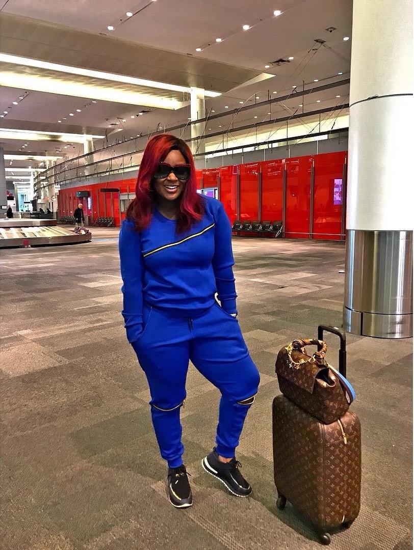 Jackie Appiah Sweatshirt Style