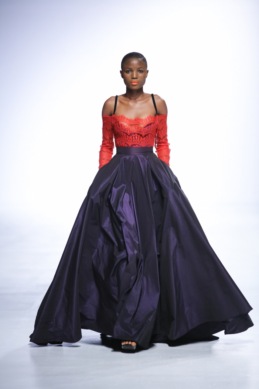 Lagos Fashion Week Runway Looks 2017
