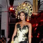 Naomi Campbell Halloween Outfit amfAR's Fabulous Fund Fair