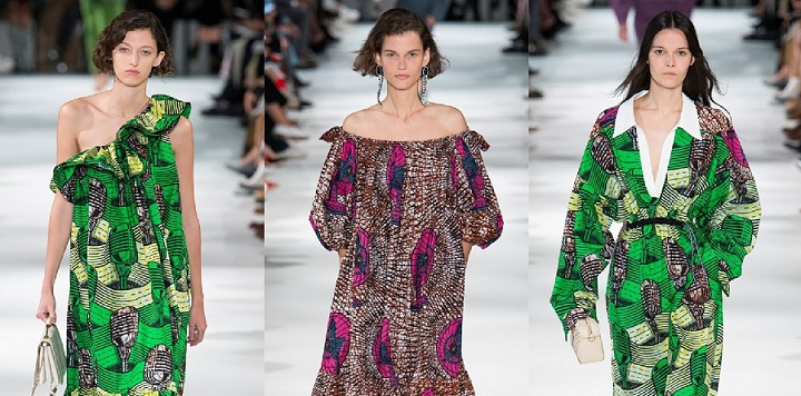 4c8cf619563 Stella McCartney Under Fire For Using White Models To Showcase Ankara  Dresses At Paris Fashion Week - FPN