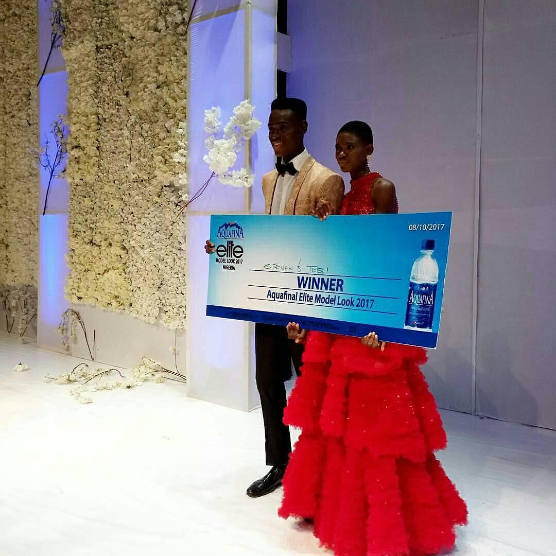Stephen & Tobi Winner Elite Model Look Nigeria 2017