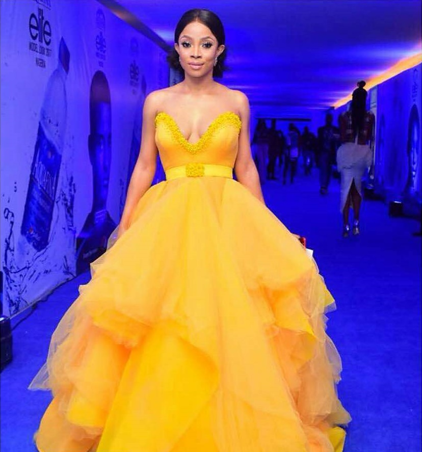 Toke Makinwa Elite Model Look