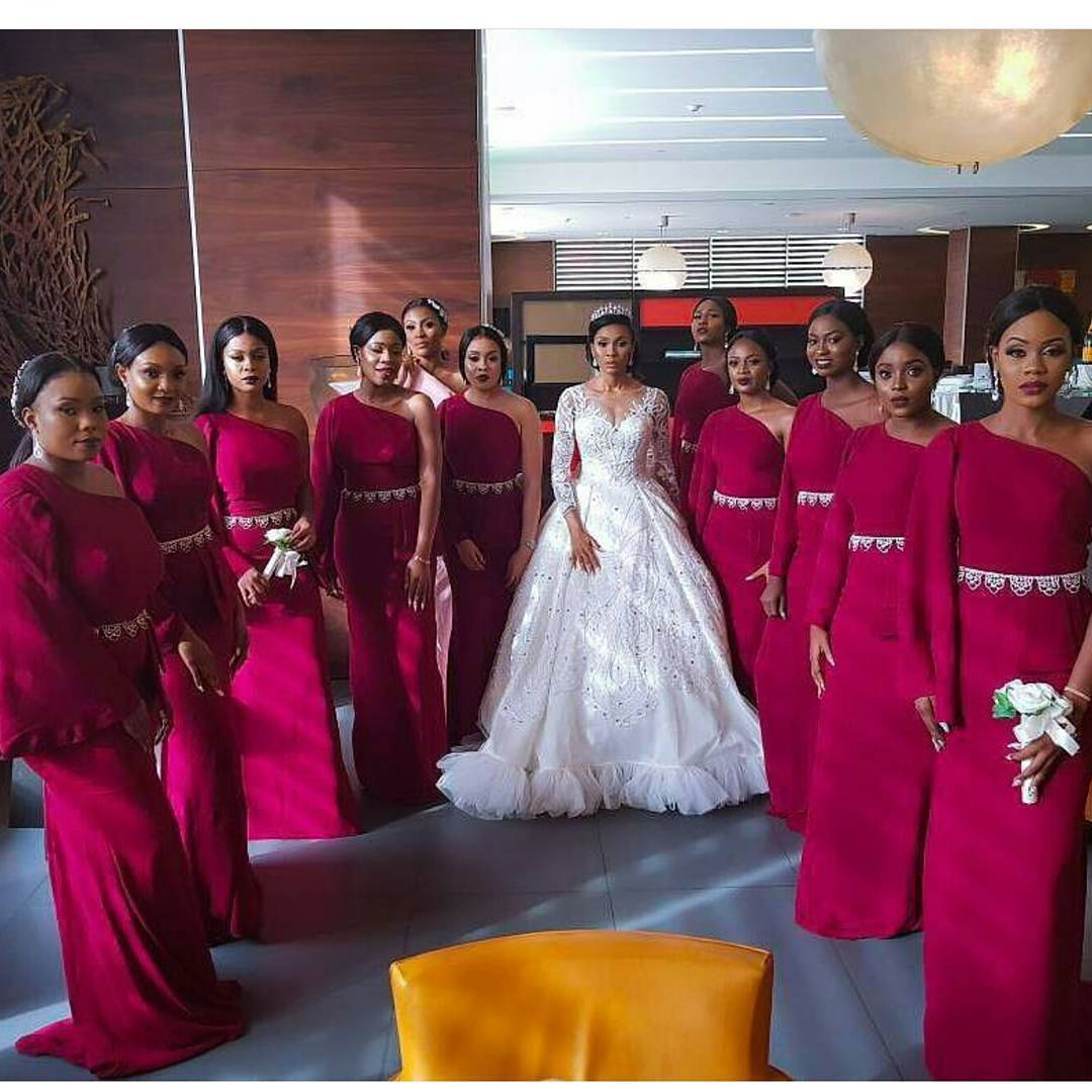 This Bride Married A Fashion Designer And Her Wedding Gown